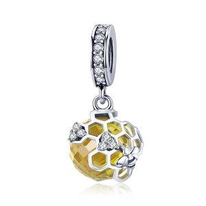 Talisman din argint Bee Hive