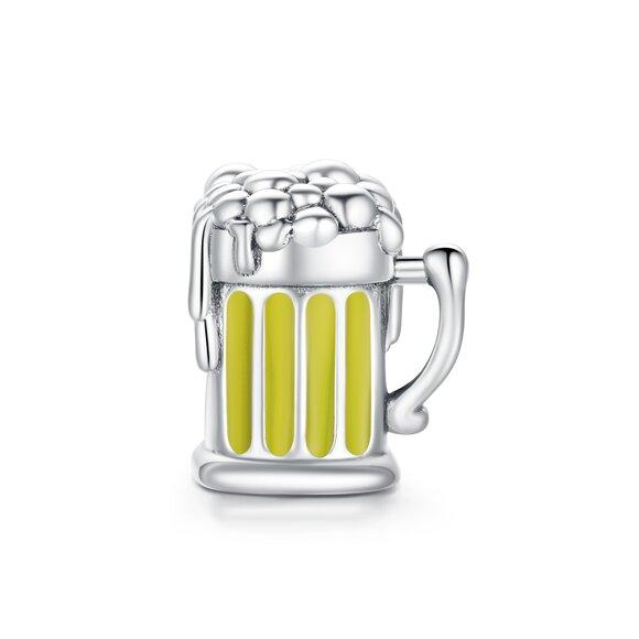 Talisman din argint Beer Cup