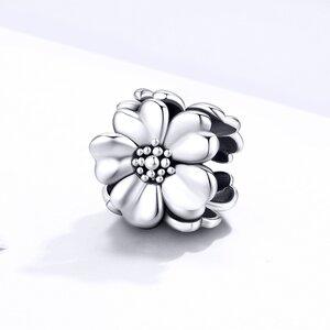 Talisman din argint Big Daisy Flower