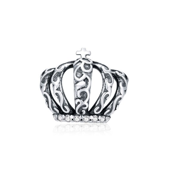 Talisman din argint Big Vintage Crown