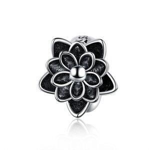 Talisman din argint Black Lotus