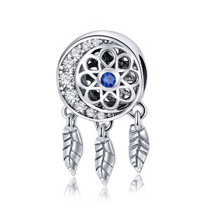 Talisman din argint Blue Dream Catcher