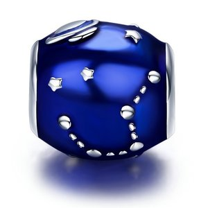 Talisman din argint Blue Galaxy