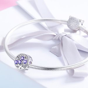 Talisman din argint Blueberry Crystals