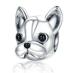Talisman din argint Bulldog