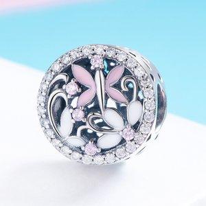 Talisman din argint Butterfly Paradise