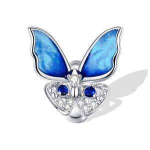 Talisman din argint Butterfly Stopper