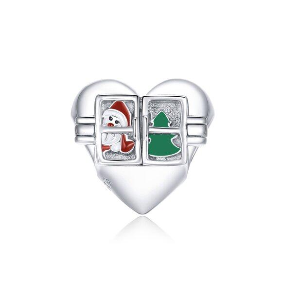 Talisman din argint Christmas Window
