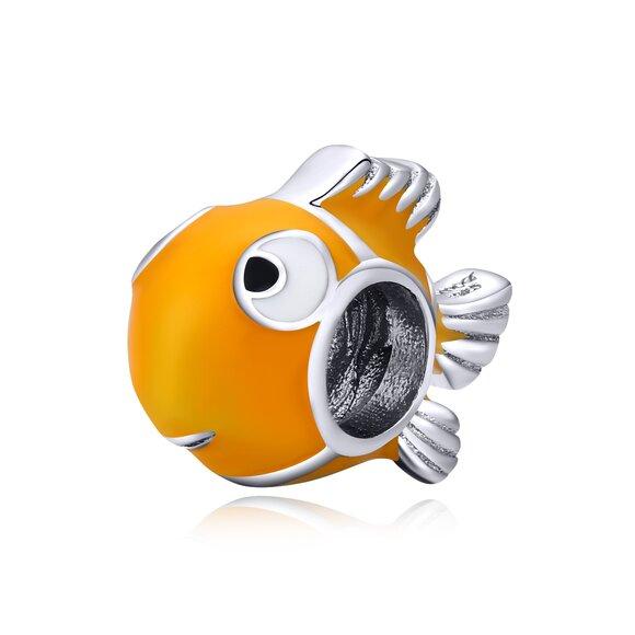 Talisman din argint Clownfish