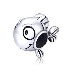 Talisman din argint Silver Clownfish
