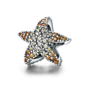 Talisman din argint Coral Starfish