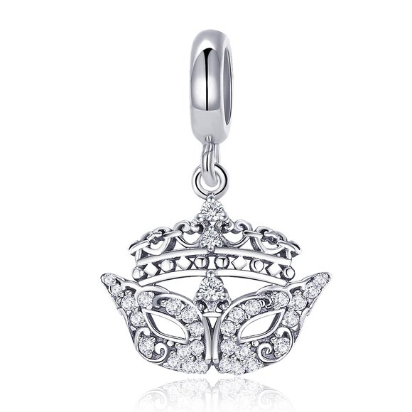 Talisman din argint Crystal Mask
