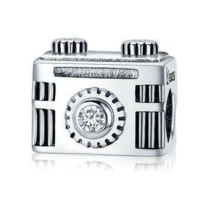 Talisman din argint cu Camera Foto