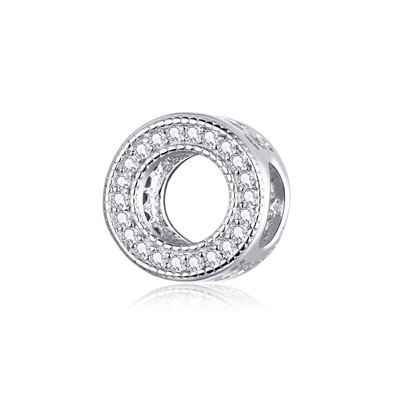 Talisman din argint cu Cerculet si Cristale poza 2021