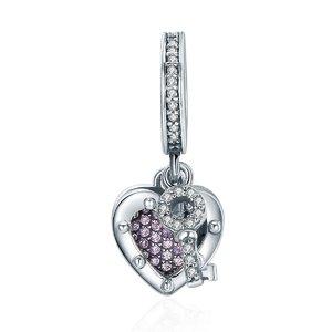 Talisman din argint cu Cheia Inimii
