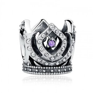 Talisman din argint cu Coroana Imperiala