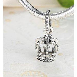 Talisman din argint cu Coroana Nobila
