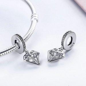 Talisman din argint cu Cristal Pretios