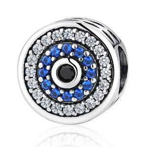 Talisman din argint cu Cristale Colorate