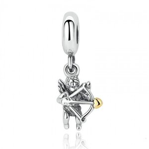 Talisman din argint Cupidon