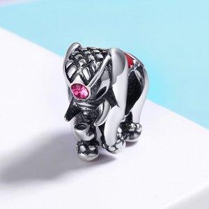 Talisman din argint cu Elefant Norocos