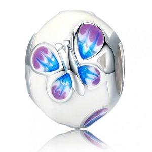Talisman din argint cu Fluturas Magic