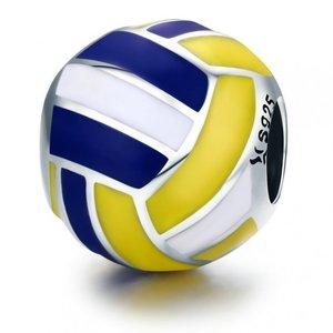 Talisman din argint cu Minge Volleyball