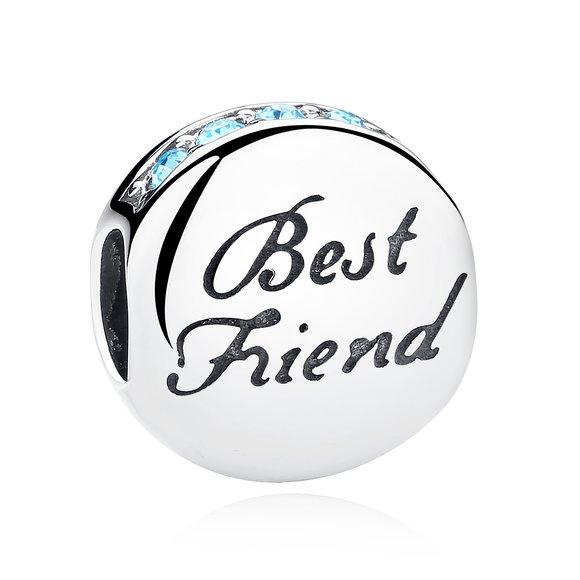 Talisman din argint cu Prietenie