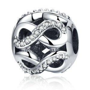 Talisman din argint cu Simbol Infinit