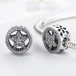 Talisman din argint cu Stea Cristalina