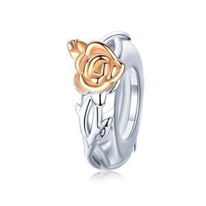 Talisman din argint cu Trandafir Aramiu