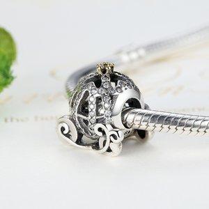 Talisman din argint cu Trasura