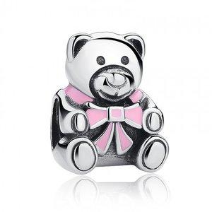 Talisman din argint cu Ursul Teddy