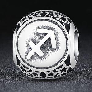 Talisman din argint cu Zodia Sagetator