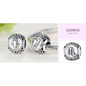 Talisman din argint cu Zodia Scorpion