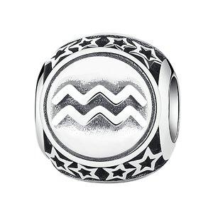 Talisman din argint cu Zodia Varsator