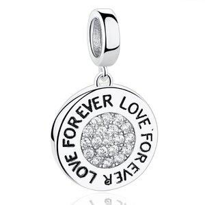 Talisman din argint Custom Photo Glamour Love