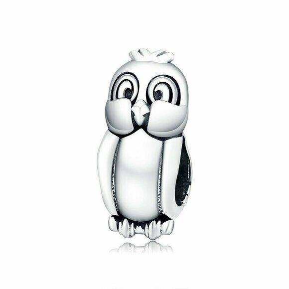 Talisman din argint Cute Little Bird