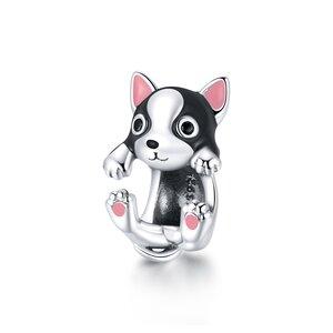 Talisman din argint Cute Puppy Charm