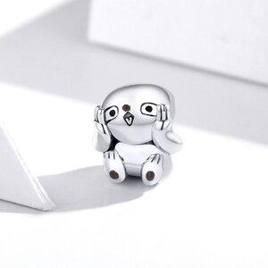 Talisman din argint Cute Sloth