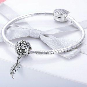 Talisman din argint Daisy Feather