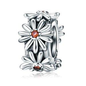 Talisman din argint Daisy Flower