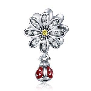 Talisman din argint Daisy Ladybug