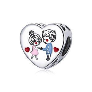 Talisman din argint Dancing Couple