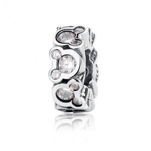 Talisman din argint Disney Crystals
