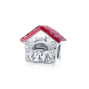 Talisman din argint Dog House