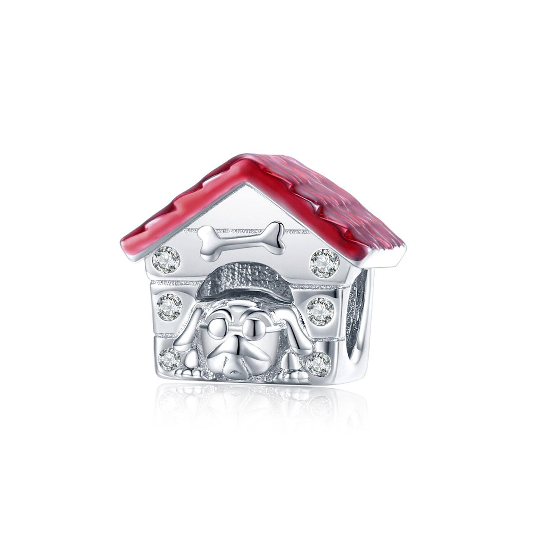 Talisman din argint Dog House poza 2021