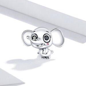 Talisman din argint Dumbo Elephant