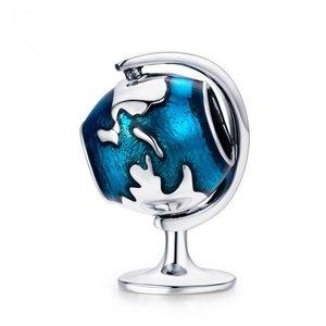 Talisman din argint Earth Globe