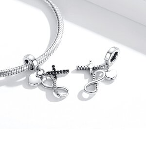 Talisman din argint Faith Trio